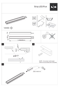 Wilson bradley l s lighting led strip plus installation instructions aloadofball Image collections