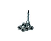 Chipboard Screws Countersunk Coarse with Nibs Pozi. Size: 8 X 1. Size: 25.4mm Gauge 8