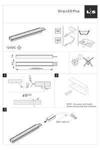 L S Lighting LED STRIP PLUS Installation Instructions